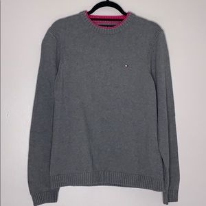Tommy Hilfiger Thick Cotton Crewneck Mock layer